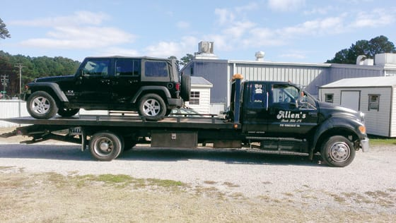 Howards Automotive 24 Hour Towing -- Allen's Wrecker Service